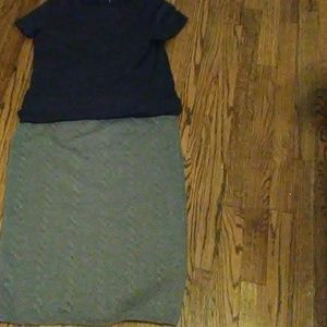 Mossimo cable knit skirt